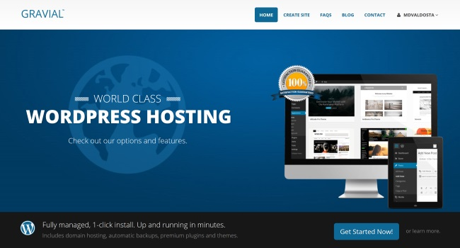 Gravial Wordpress Hosting